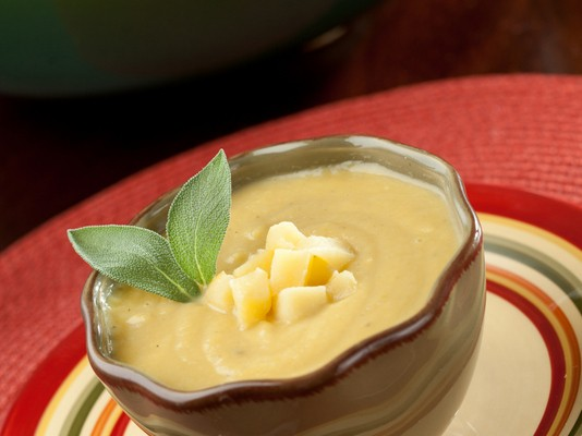Caramelized Apple and Parsnip Soup