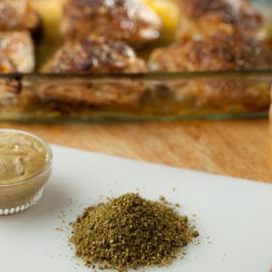 Roasted Garlic Zaatar Chicken