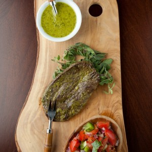 Hangar Steak with Chimichurri
