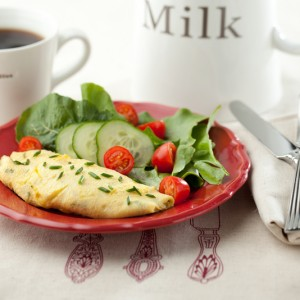 French Herb Omelet