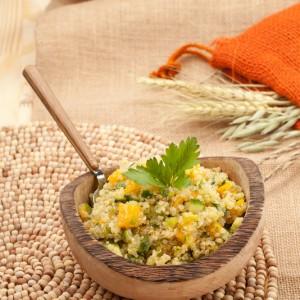 Tropical Quinoa & Mango Salad