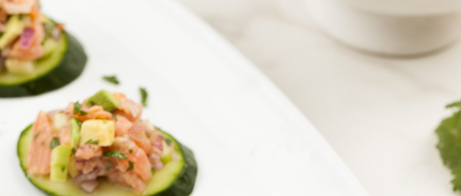 Citrus-Cured Salmon Avocado Tartare